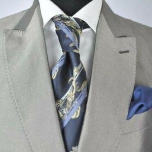 Moschino Modern 2Btn Suit + Versace Tie